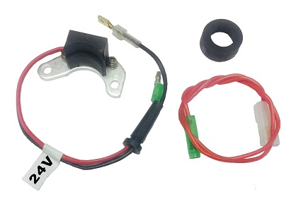 Electrical Components Other Electrical Components AccuSpark 24-Volt Electronic Ignition for Landrover with a Lucas 45D Distributor